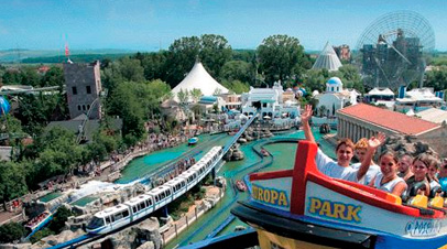 europapark attracties