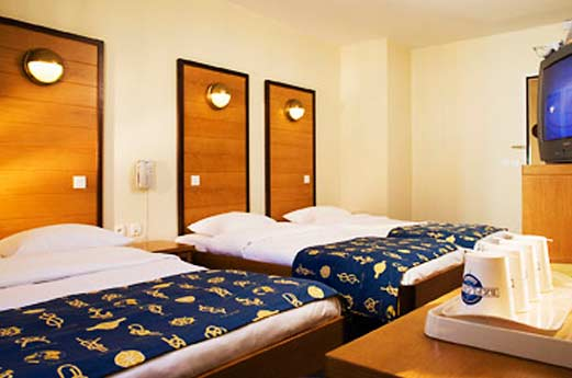 Hotel Explorers hotelkamer