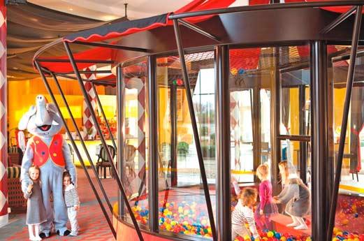 Hotel Vienna House Magic Circus ballebak