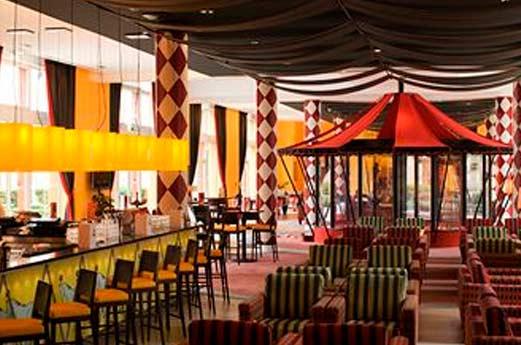Hotel Vienna House Magic Circus restaurant