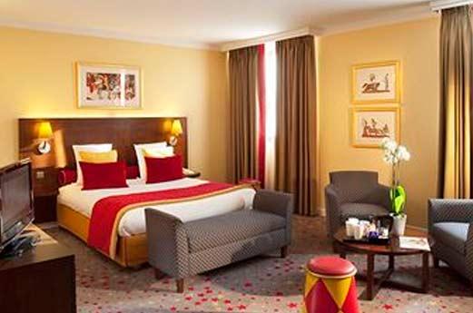 Hotel Magic Circus hotelkamer