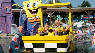 movie park spongebob