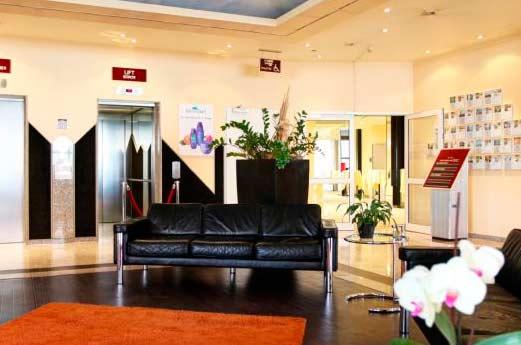 Hotel Arcadia Bottrop hal