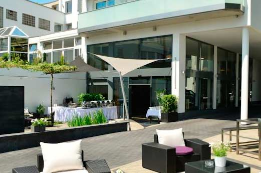 Hotel Arcadia Bottrop tuin