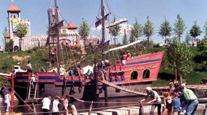 playmobil funpark schip