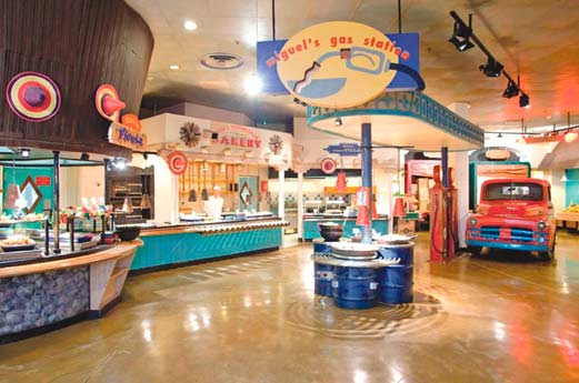 Disney Hotel Santa Fe restaurant