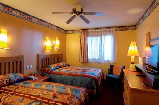 Disney Hotel Santa Fe slaapkamer