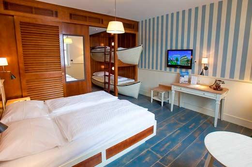 Hotel Bell Rock slaapkamer