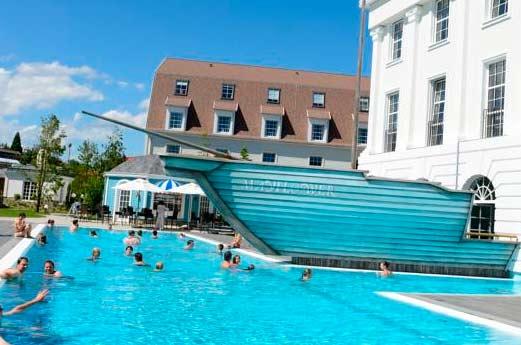 Hotel Bell Rock zwembad
