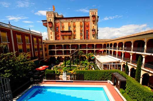 Hotel El Andaluz voorkant
