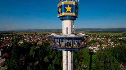 euro tower attractie
