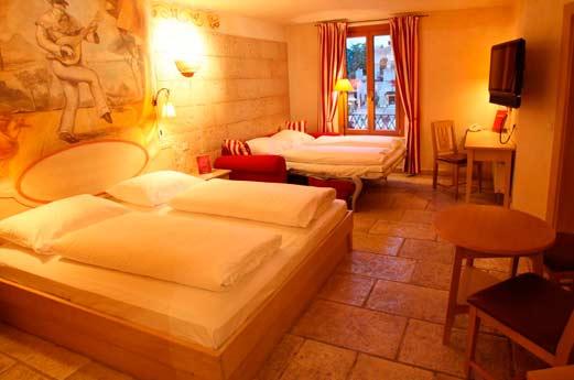 Hotel Colosseo slaapkamer