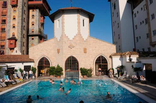 Hotel Santa Isabel zwembad