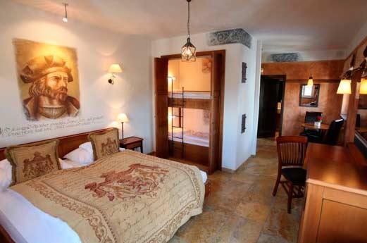 Hotel Santa Isabel slaapkamer
